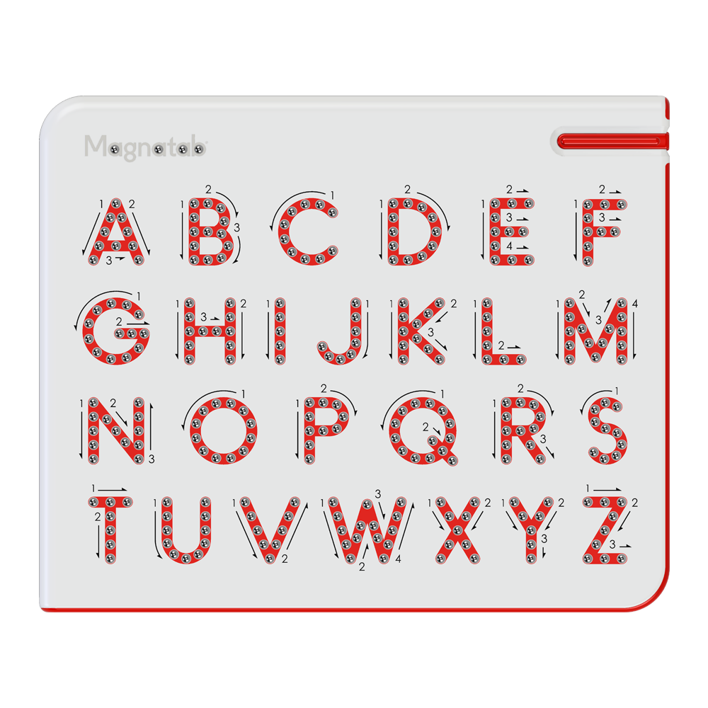 Magnatab® A to Z Uppercase